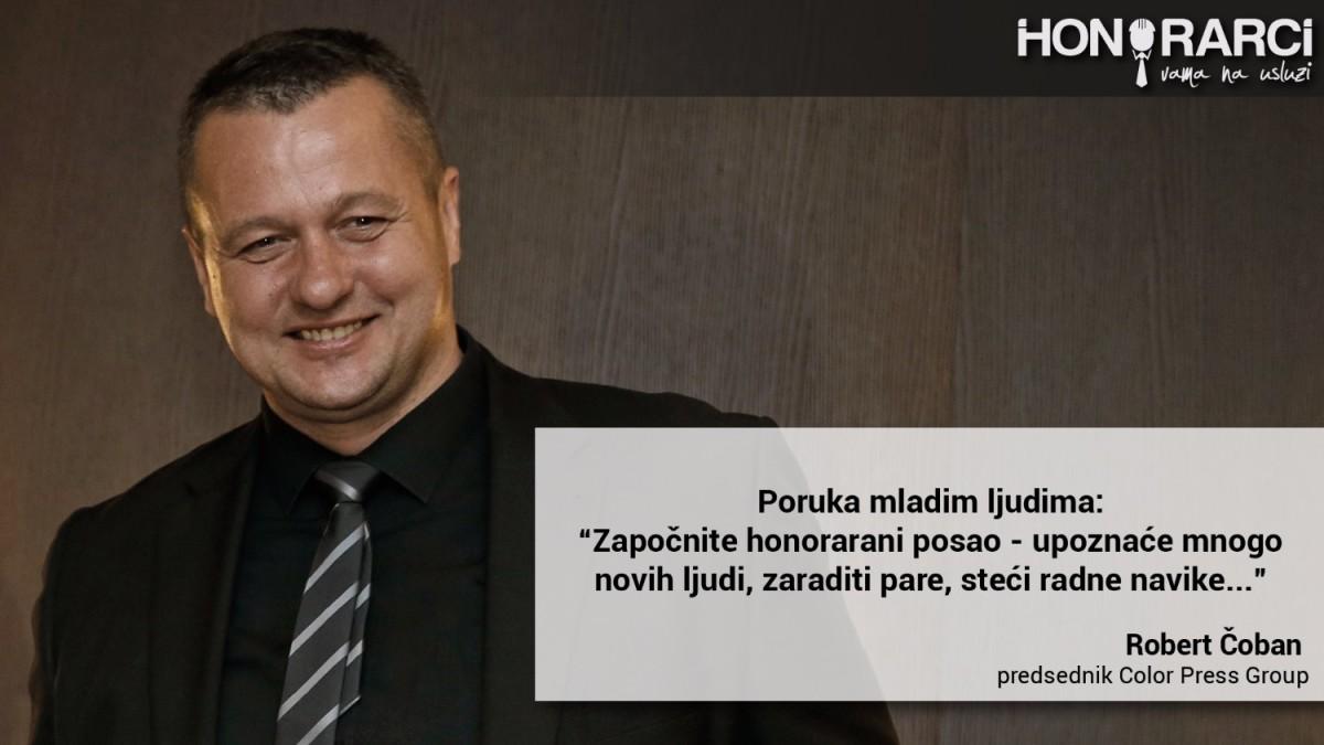 """[INTERVJU] Robert Čoban: """"Počeo sam kao honorarac u dopisništvu Novosti"""""""