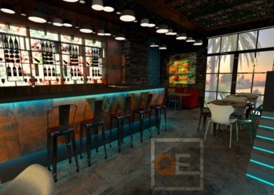 Kafić Wave, rešenje za inostranstvo , Sao Paolo Brazil
