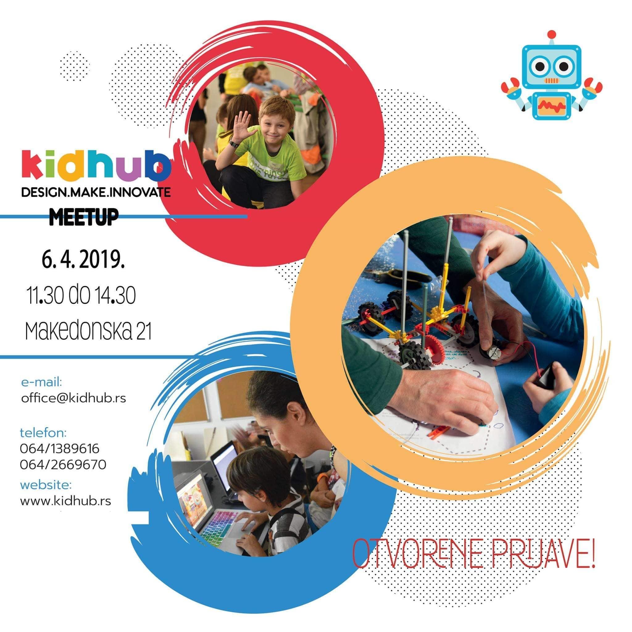 KIDHUB meet up Beograd