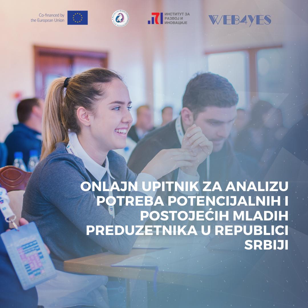 Onlajn upitnik za analizu potreba potencijalnih i postojećih mladih preduzetnika u Republici Srbiji