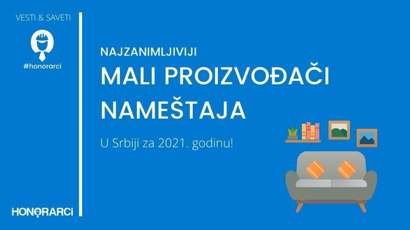 Najzanimljiviji mali proizvođači nameštaja u 2021.